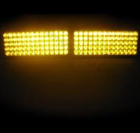 Стробоскопы фары-вспышки GLOE-868T, желтые (оранжевые)